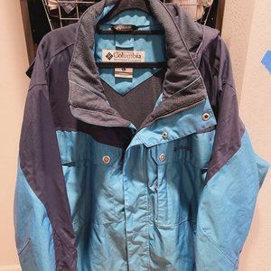 Men Columbia jacket outwear top coat interchange